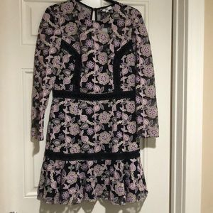 NWT True Decadence Petite Floral Lace Skater Dress